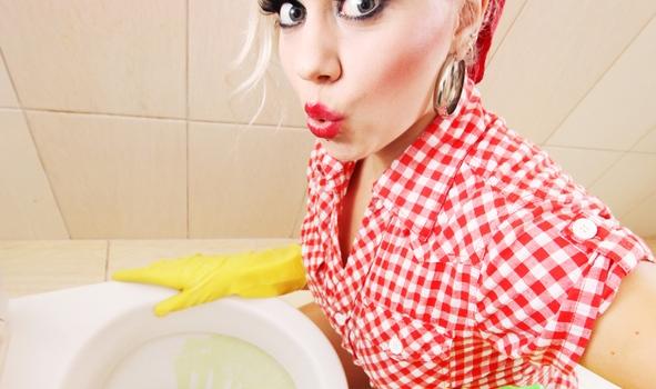 Toilette richtig putzen
